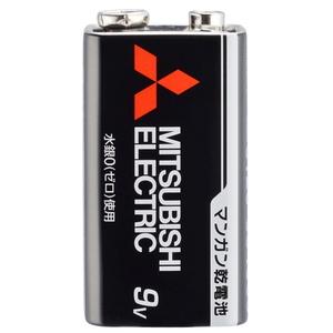 MITSUBISHI(三菱電機) マンガン乾電池 9V形 1本入 6F22UD/1S