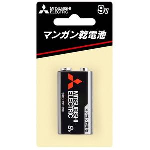 MITSUBISHI(三菱電機) マンガン乾電池 9V形 1本入 ブリスターパック 6F22UD/1BP