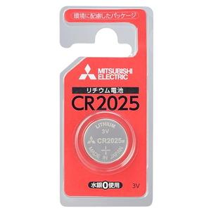 MITSUBISHI(三菱電機) リチウムコイン電池 3V 1個パック CR2025 CR2025D/1BP
