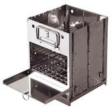 アウトドアマン(OUTDOOR MAN) FLAME BOX KOBG-003V BBQコンロ(卓上タイプ)