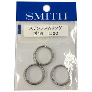 スミス(SMITH LTD) ステンレスWリング 16
