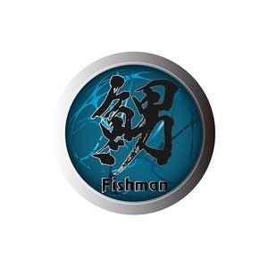 Fishman(フィッシュマン) 魚男ステッカー ST-201606