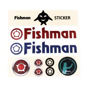 Fishman(フィッシュマン) Fishmanカッティングステッカーセット ST-201901