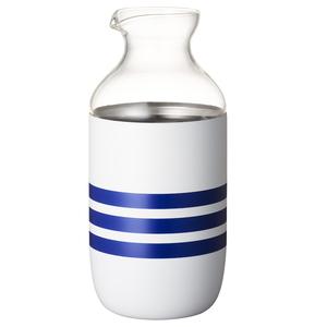 ドウシシャ(DOSHISHA) ON度ZONE 飲みごこちとっくり 線 ホワイト、透明 OZNN-360SE