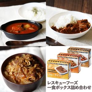 ホリカフーズ(FORICA FOODS) レスキューフーズ 一食ボックス 詰め合わせ 752000