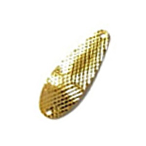 ムカイ 岩魚スプーン ダイヤカット 2.5g #1 ゴールド
