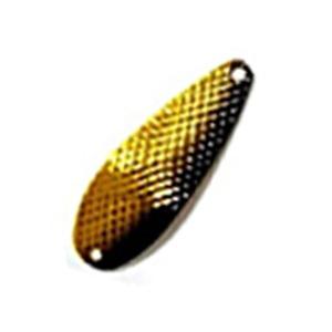 ムカイ 岩魚スプーン 両面ダイヤカット 3g #5 イエローGブラック
