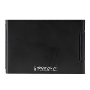 Kenko(ケンコー) SDメモリーカードケースAS 16枚収納(SDカード16枚+microSDカード16枚収納可能) ブラック ASSD16BK