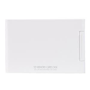 Kenko(ケンコー) SDメモリーカードケースAS 16枚収納(SDカード16枚+microSDカード16枚収納可能) ホワイト ASSD16WH