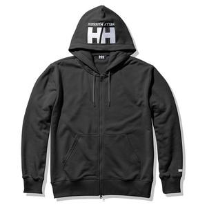 HELLY HANSEN(ヘリーハンセン) 【21春夏】Logo Full-zip Sweat Hoodie(ロゴフルジップスウェットフーディ) HE32122