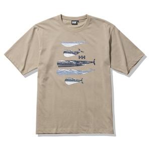 HELLY HANSEN(ヘリーハンセン) Men's S/S Whale Tee(S/S ホエール ティー)メンズ HE62131
