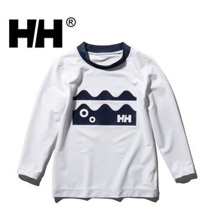 HELLY HANSEN(ヘリーハンセン) 【21春夏】キッズ LS クルーラッシュガード HJ82005