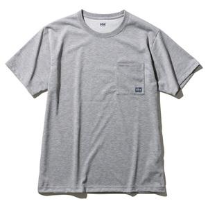 HELLY HANSEN(ヘリーハンセン) 【21春夏】M S/S Logo Pocket Tee(ショートスリーブロゴポケットティー)メンズ M Z HOE62007