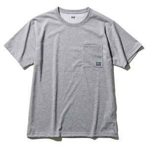 HELLY HANSEN(ヘリーハンセン) 【21春夏】M S/S Logo Pocket Tee(ショートスリーブロゴポケットティー)メンズ L Z HOE62007