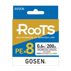 ゴーセン(GOSEN) RooTS(ルーツ) PE×8 200m GMR8LG2012