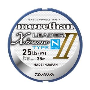 ダイワ(Daiwa) モアザンリーダーEX II TYPE-N(ナイロン) 35m 4号/16lb クリアー 07303712