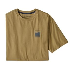 パタゴニア(patagonia) 【21春夏】メンズ アルパイン アイコン リジェネラティブ オーガニックコットン Tシャツ 37400