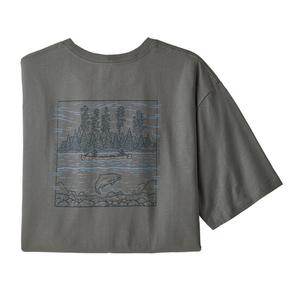 パタゴニア(patagonia) 【21春夏】メンズ ワイルド ホーム ウォーターズ オーガニック Tシャツ 37414