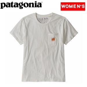 パタゴニア(patagonia) 【21春夏】ウィメンズ アルパイン アイコンリジェネラティブ オーガニックコットン ポケットTシャツ 37425