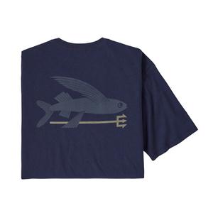 パタゴニア(patagonia) 【21春夏】メンズ フライング フィッシュ オーガニック Tシャツ 38528