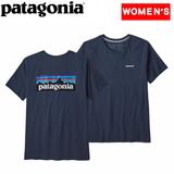 パタゴニア(patagonia) ウィメンズ P-6 ロゴ オーガニック クルー Tシャツ 38587 Tシャツ・ノースリーブ(レディース)