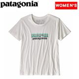 パタゴニア(patagonia) ウィメンズ パステル P-6 ロゴ オーガニック クルー Tシャツ 39576 Tシャツ・ノースリーブ(レディース)
