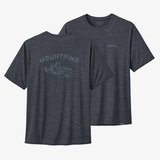 パタゴニア(patagonia) 【21春夏】メンズ キャプリーン クール デイリー グラフィック シャツ 45235 メンズ速乾性半袖Tシャツ