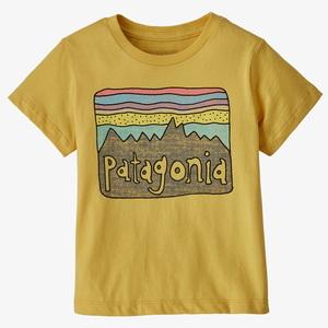 パタゴニア(patagonia) 【21春夏】ベビー フィッツ ロイ スカイズ オーガニック Tシャツ キッズ 60419