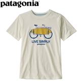 パタゴニア(patagonia) Boy's Graphic Organic T(グラフィック オーガニック Tシャツ) 62151 半袖(ジュニア・キッズ・ベビー)