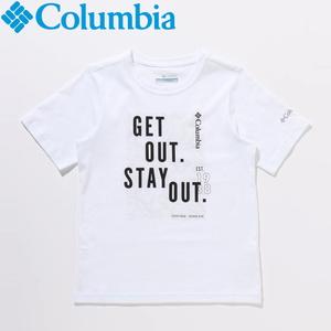 Columbia(コロンビア) 【21春夏】ハッピー ヒルズ グラフィック ショートスリーブ Tシャツ キッズ AB0086