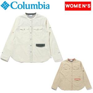 Columbia(コロンビア) 【21春夏】セカンド ヒル ウィメンズ ロングスリーブ シャツ PL0141 レディース速乾性長袖シャツ