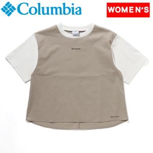 Columbia(コロンビア) 【21春夏】Monroe Point W SS Crew モンロー ポイント ショートスリーブクルー PL0180