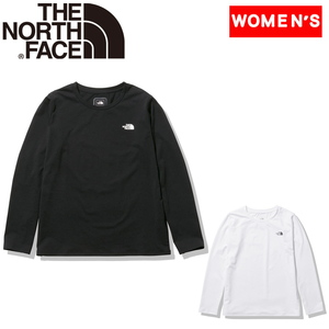 THE NORTH FACE(ザ・ノースフェイス) 【21春夏】W L/S EXP-PARCEL TEE(エクスプローラー パーセルティー)ウィメンズ NTW62062 レディース速乾性長袖Tシャツ