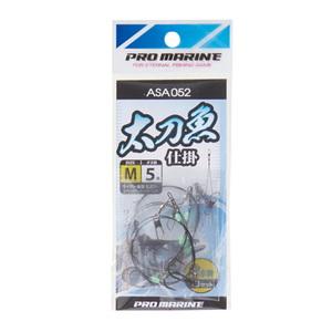 プロマリン(PRO MARINE) 太刀魚仕掛け水平 M チヌ5号 ASA052