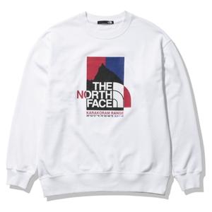 THE NORTH FACE(ザ・ノースフェイス) 【21春夏】KARAKORAM RANGE CREW(カラコラム レンジ クルー)ユニセックス NT12132