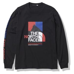THE NORTH FACE(ザ・ノースフェイス) 【21春夏】ロングスリーブ カラコラム レンジ ティー メンズ NT32131