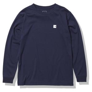 THE NORTH FACE(ザ・ノースフェイス) 【21春夏】M L/S SM BOX LOGO TEE(スモール ボックス ロゴ ティー)メンズ NT32139 メンズ速乾性長袖Tシャツ