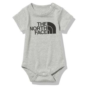 THE NORTH FACE(ザ・ノースフェイス) 【21春夏】ベビー ショートスリーブ スムース コットン ロンパース NTB12174 カバーオール(ジュニア・キッズ・ベビー)