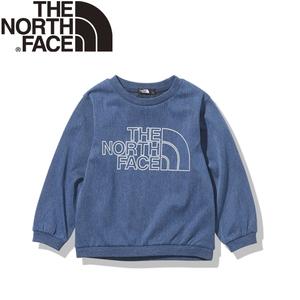 THE NORTH FACE(ザ・ノースフェイス) 【21秋冬】K ST DENIM MT CREW(ストレッチ デニム マウンテン クルー)キッズ NTJ12122
