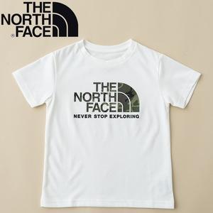 THE NORTH FACE(ザ・ノースフェイス) 【21春夏】K S/S CAMO LOGO TEE(ショート スリーブ カモ ロゴ ティー)キッズ NTJ32145