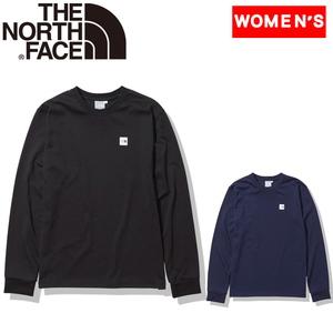 THE NORTH FACE(ザ・ノースフェイス) 【21春夏】ロング スリーブ スモール ボックス ロゴ ティー ウィメンズ NTW32139