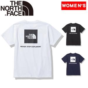 THE NORTH FACE(ザ・ノースフェイス) 【21春夏】ショート スリーブ バック スクエア ロゴ ティー ウィメンズ NTW32144 レディース速乾性半袖Tシャツ