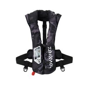 ダイワ(Daiwa) DF-2021 ウォッシャブルライフジャケット(肩掛けタイプ自動・手動膨脹式)Aタイプ 08370271 インフレータブル(自動膨張)