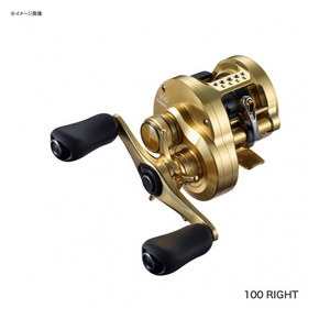 シマノ(SHIMANO) 21 カルカッタコンクエスト 100HG 右巻き 04236 遠心ブレーキタイプ
