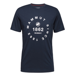 MAMMUT(マムート) 【21春夏】Seile T-Shirt Men's S 50360(marine PRT2) 1017-00974