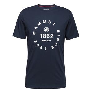 MAMMUT(マムート) 【21春夏】Seile T-Shirt Men's L 50360(marine PRT2) 1017-00974