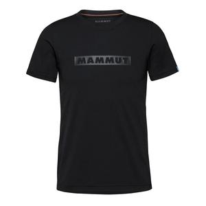 MAMMUT(マムート) 【21春夏】QD Logo Print T-Shirt AF men's M 00254(black PRT2) 1017-02011