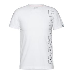 MAMMUT(マムート) 【21春夏】QD Logo Print T-Shirt AF men's S 00541(white PRT4) 1017-02011