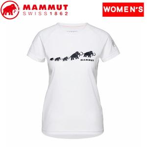 MAMMUT(マムート) 【21春夏】QD Logo Print T-Shirt AF Women's 1017-02021 レディース速乾性半袖Tシャツ