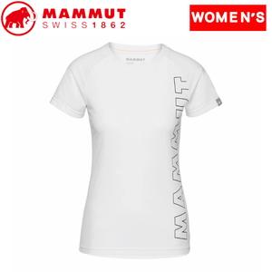 MAMMUT(マムート) 【21春夏】QD Logo Print T-Shirt AF Women's 1017-02021